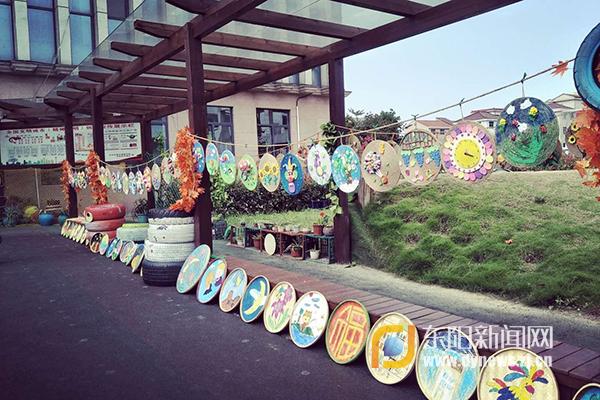 下里市幼儿园:创意美术作品展迎六一